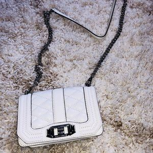 Rebecca Minkoff white quilted crossbody